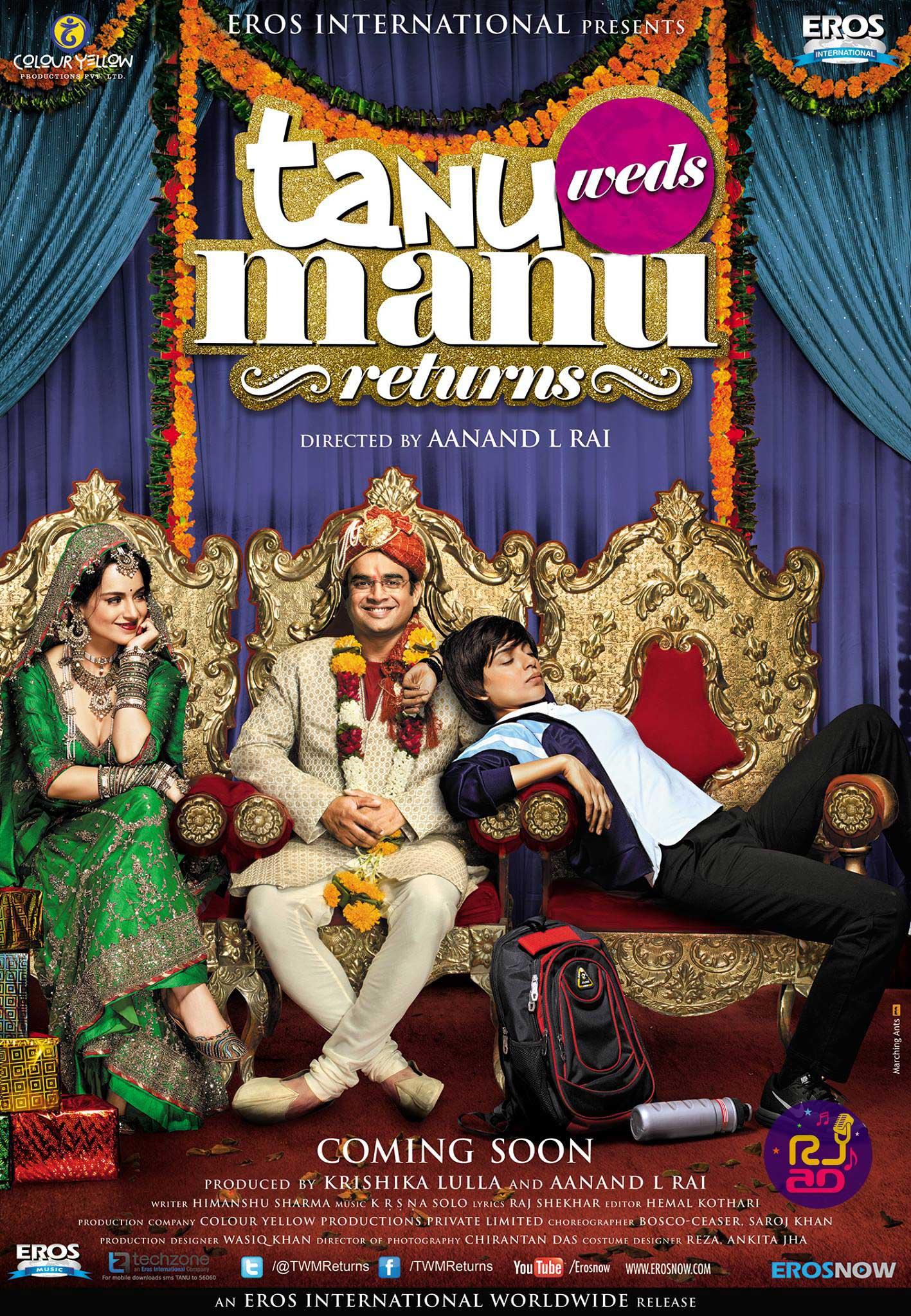 Tanu-Weds-Manu-Returns-Poster