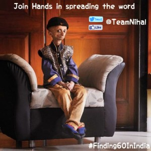 Help Team Nihal to finding 60 in India