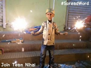 Nihal Bitla Progeria Kid
