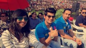 :) Omkar Kapoor, Sunny Singh & Aditi