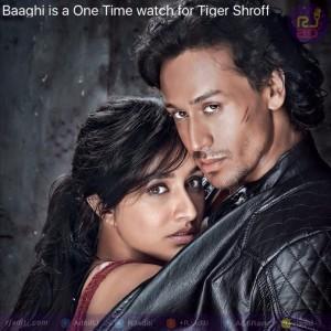 Baaghi poster RJ Aditi