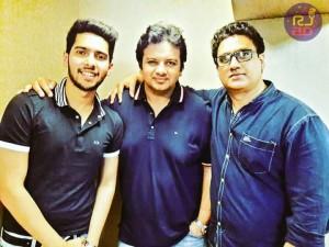 Armaan Malik, Parth Bharat Thakkar and Daboo Malik