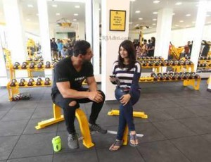 In healthy chat with John Abraham