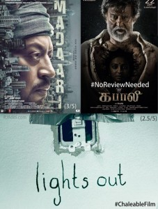 Madaari Kabaali Lights out